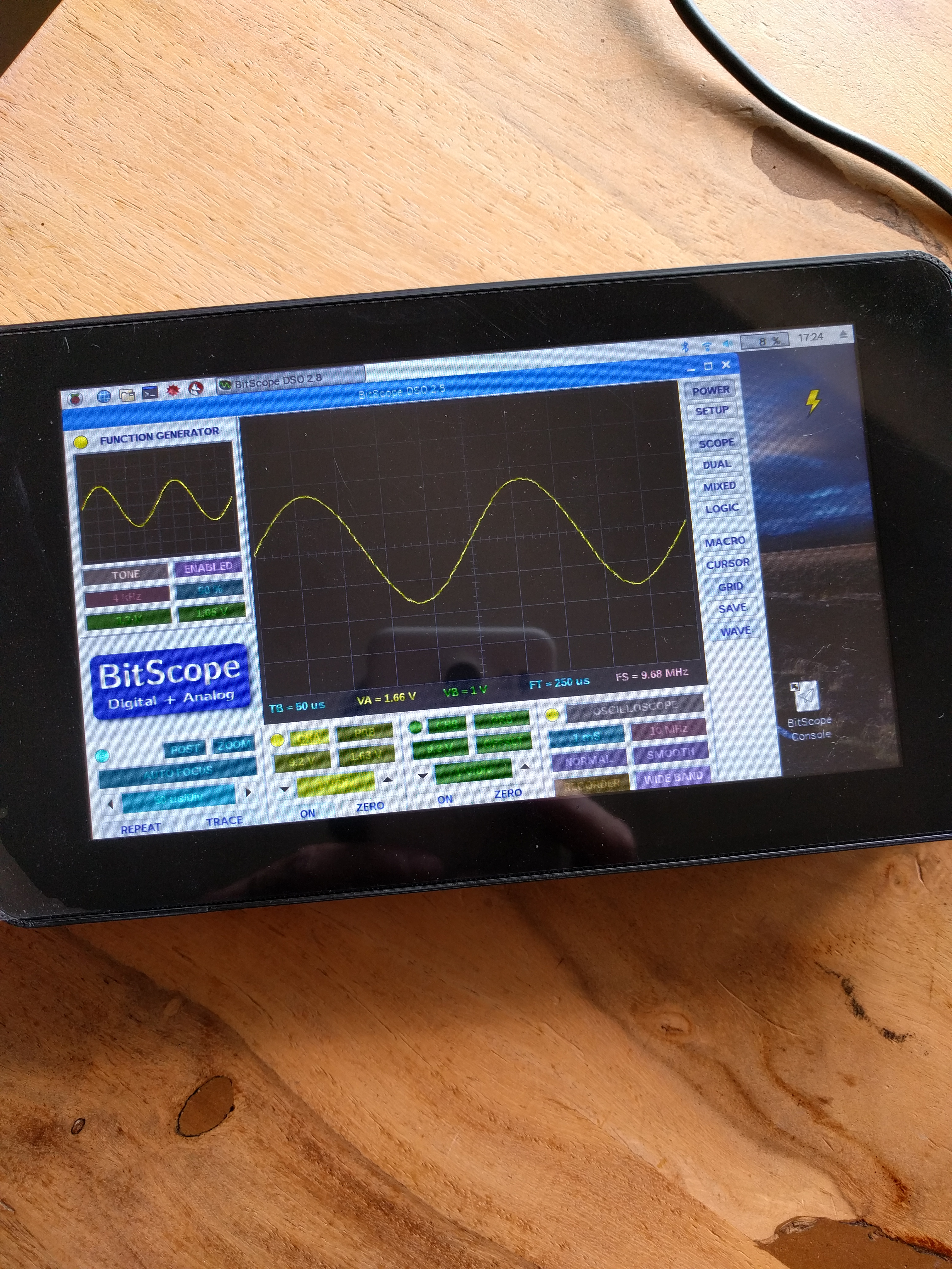 Portable 20MHz Oszilloscope – Bambis Homepage